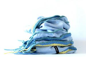 scarves blue